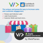 CashBack Sales Booster for Shopify by Webplanex